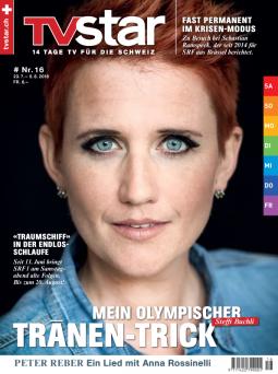 Cover der Zeitschrift «TV Star»