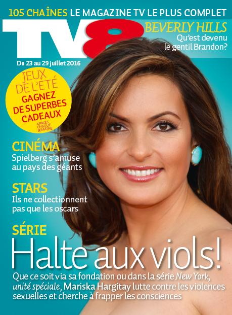 Cover der Zeitschrift «TV8»