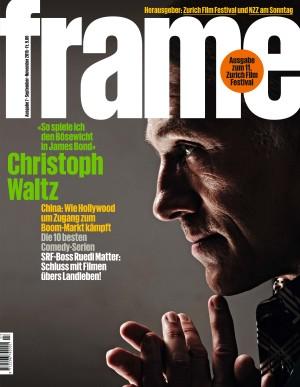 Cover der Zeitschrift «Frame»